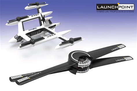 launchpoint technologies hybrid electric uav power