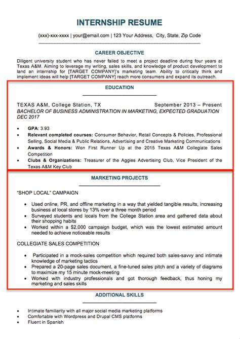 College Resume by College Student Resume Sle Writing Tips Resume