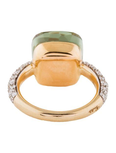 nudo pomellato ring pomellato 18k quartz nudo ring rings