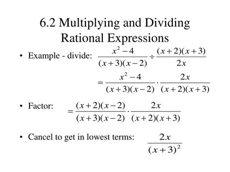 Ppt  61 The Fundamental Property Of Rational Expressions Powerpoint Presentation Id317253