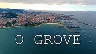 Sobrevolando O Grove, el paraíso gallego - YouTube
