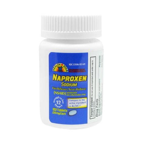 Mckesson Naproxen Sodium Pain Relief Tablets | Pain Relief