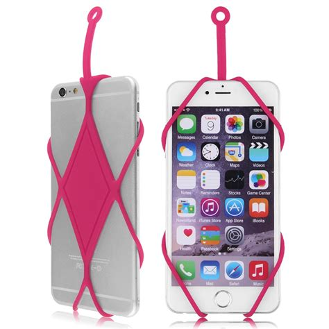 lanyard for cell phone silicone lanyard cover holder necklace for