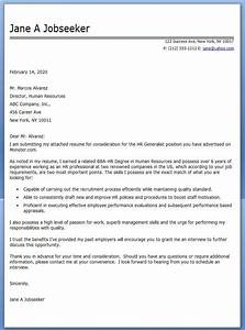 cover letter addressed to human resources - hr generalist cover letter examples creative resume