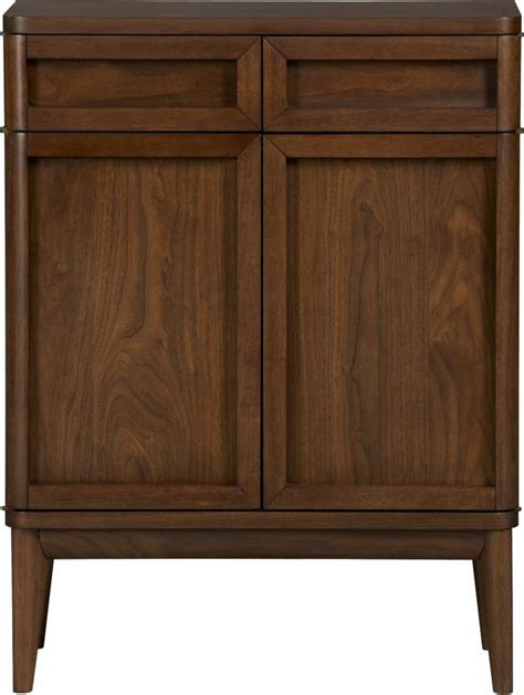 Crate And Barrel Oslo Bar Cabinet by Oslo Bar Cabinet