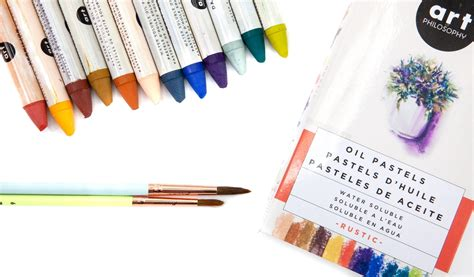 Although oil pastels harden somewhat, particularly in cooler temperatures, they never completely dry on the painting and remain the same viscosity throughout the layers of paint. Water Soluble Oil Pastels - Rustic - Live in Colors