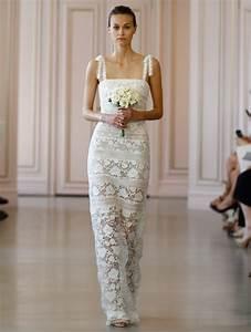 Oscar de la renta bridal collection 2016 modwedding for De la renta wedding dresses