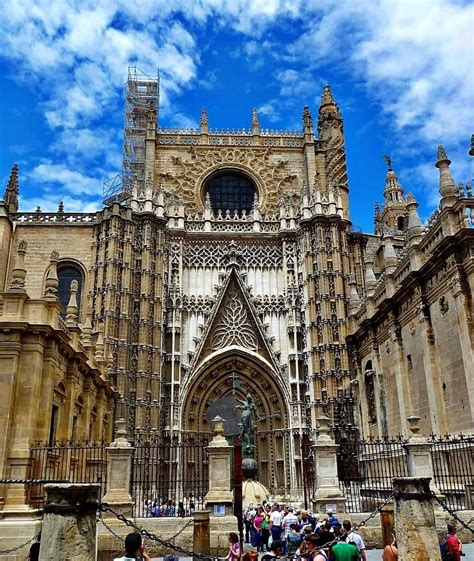 Seville Cathedral Seville Spain One Of My Favorite