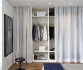 Dressing Rideau Ikea by Arquitetura Do Im 243 Vel Cortinas No Lugar De Portas