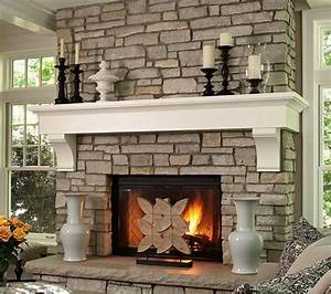 Stone, Fireplace, Mantels, And, Why, They, Are, Suitable, In, Any, Home