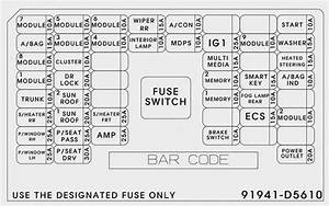 2005 Kia Optima Fuse Diagram