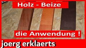 Holz Lackieren Anleitung : richtig holz beizen und f rben mit anleitung tipps tricks tutorial ~ A.2002-acura-tl-radio.info Haus und Dekorationen