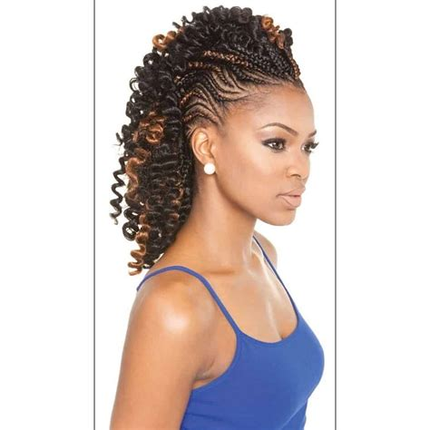 12 fabulous braided mohawk hairstyles with a weave sheideas
