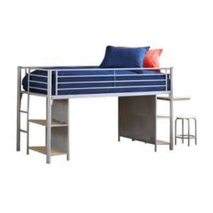 hillsdale universal junior bookcase loft bed with desk and