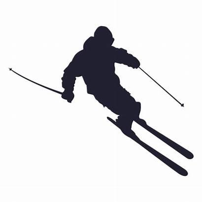Ski Silueta Esqui Skier Transparent Silhouette Silhueta