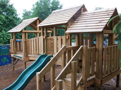 preschool playsets backyard playground churches amp preschools 133