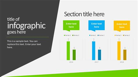 Free Animated Business Infographics Powerpoint Template