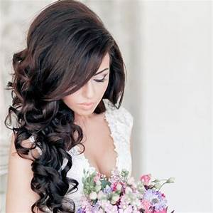 Exclusive Fashion Curly Hairstyles for American Brides HairzStyle Com : HairzStyle