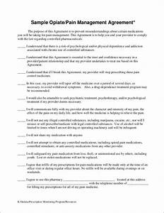 16 management contract samples templates free word With pain management templates