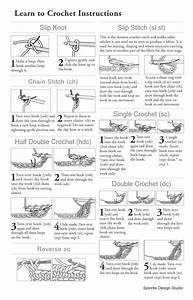 Free Printable Crochet Stitch Guide