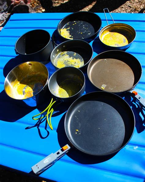 cookware camping test cook pot titanium outdoorgearlab pan outdoor skillets snow hiking peak outdoors without