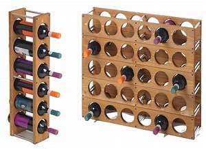Wooden Modular Wine Rack - Kandu Furniture