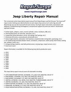 Jeep Liberty Repair Manual 2002 2011