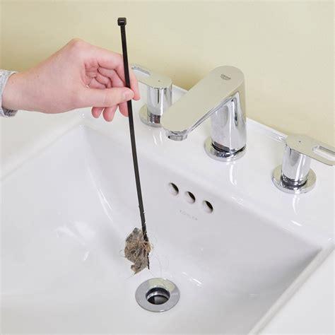 simple bathroom sink drain cleaner the family handyman