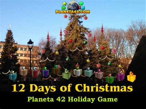 12 Days Of Christmas  Fun Holiday Game