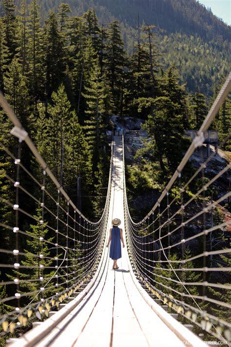 squamish bc things bridge suspension localadventurer incredible