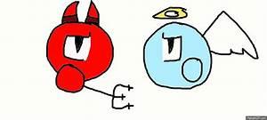 Devil Vs Angel Emoticon (Animated) by DevianArtSocialist ...