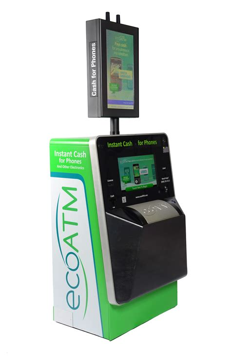 recycle phones for maker of redbox and coinstar kiosks rolls out ecoatm