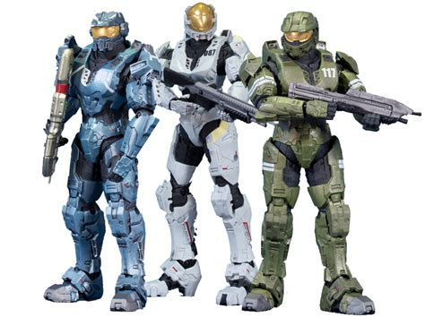 Halo Legends Action Figure 3 Pack The Package