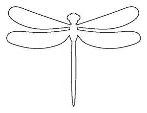 basic outlines of dragonflies dragonfly pattern use the printable outline for crafts creating stencils scrapbooking and