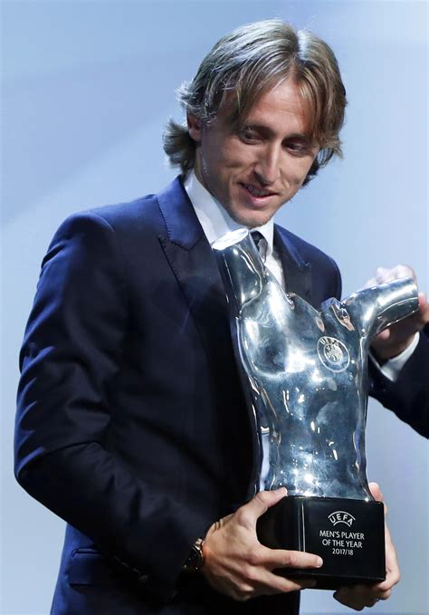 luka modric named uefa player  year iol