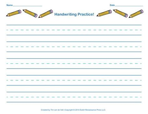 handwriting practice paper  kids handwriting practice paper writing practice
