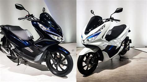 เปิดตัว 2018 Honda Pcx Hybrid และ Pcx Electric ในงาน Tokyo