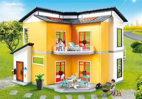 modern house 9266 playmobil