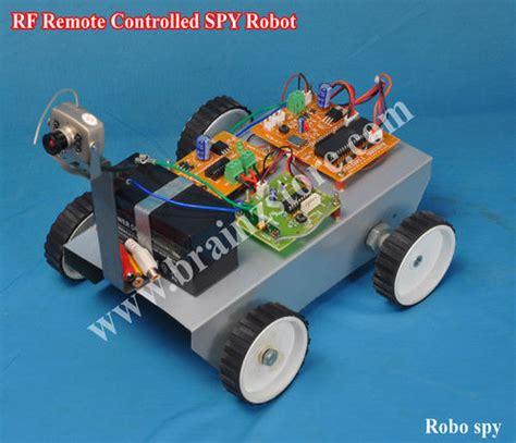 Remote Controlled Spy Robo Pcb Modules Circuit
