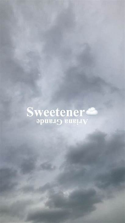 Sweetener Ariana Grande Wallpapers Aesthetic Background Lyrics