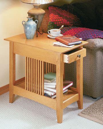 craftsman  table woodsmith plans