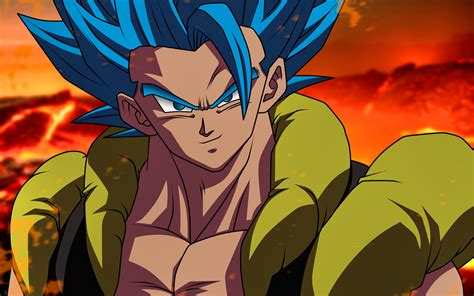 wallpapers gogeta super saiyan blue  dbs