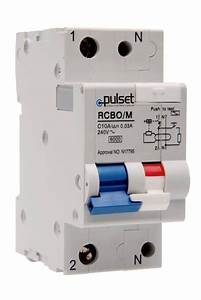 Deal 2 Pole Mcb  Rcd Mechanical Combo
