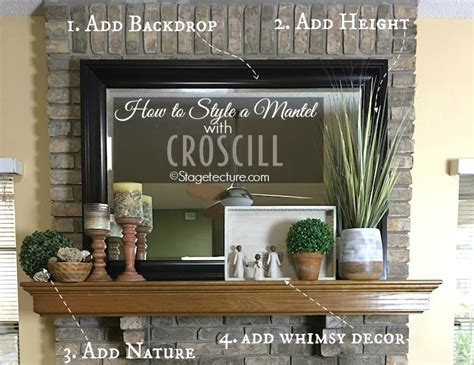 Decorating Ideas For Mantels by 4 Easy Fireplace Mantel Decorating Ideas With Croscill