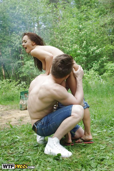 Insane Group Sex In The Forest With Awesome Slender