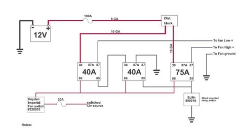 2 Speed Fan Wiring Diagram by A Ford 2 Speed Electric Fan Upgrade Bob S Garage Library