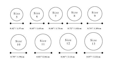 wedding ring sizing tips engagement wedding ring size chart