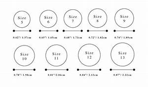 Wedding ring sizes new wedding ring sizes with hold one for Wedding ring sizing