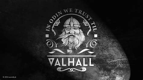in odin we trust til valhall wallpaper wp3806623