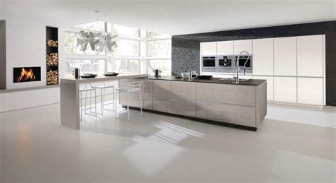 cuisines alno alno hochglanz küche mit elektrogeräten und einbauspüle deine kochinsel